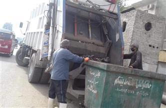 رفع 40 طن مخلفات وقمامة وتمهيد طرق بساقلتة في سوهاج | صور