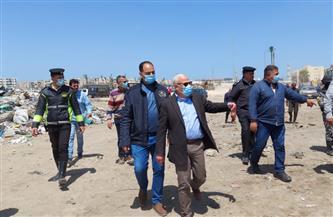 محافظ بورسعيد يوجه بإزالة كافة الإشغالات والعشوائيات بمحيط قناة الاتصال بالضواحي| صور