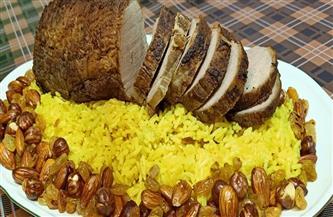 طبق اليوم.. تربيانكو وأرز بسمتي وحلقات البصل المقرمش