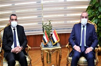 توقيع مذكرة تفاهم بين الشركة القابضة لمصر للطيران والخطوط الجوية السودانية| صور