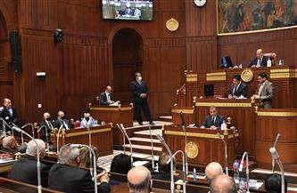 بدء الجلسة العامة لمجلس الشيوخ برئاسة المستشار عبد الوهاب عبد الرازق