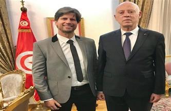 """نجيب بلحسن فخور بلقاء الرئيس التونسي وسعيد بنجاح """"موسى """""""