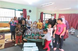 الداخلية تُشارك الأطفال الأيتام الاحتفال بيومهم   صور