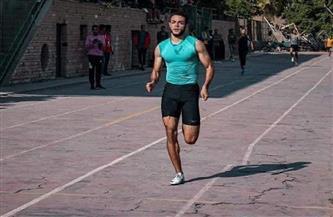 شهاب طارق يستعد لبطولة البحر المتوسط لألعاب القوى