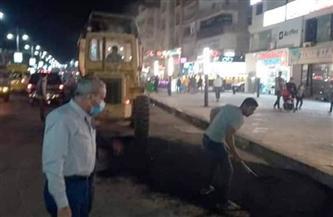 رئيس مدينة الغردقة يتفقد أعمال رفع كفاءة شارع الشيراتون السياحي   صور