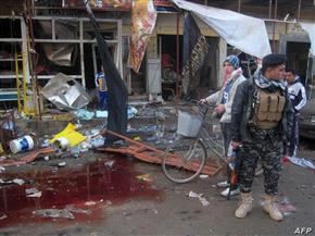 «داعش» يعلن مسئوليته عن انفجار بسوق في بغداد