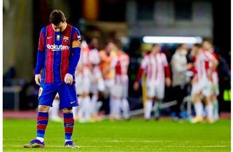 برشلونة يواجه بلباو في نهائي كأس ملك إسبانيا لحصد اللقب والسعي لثأر ميسي