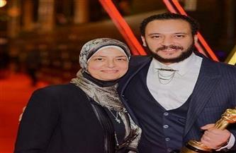 تشييع جثمان والدة الفنان أحمد خالد صالح من مسجد عمرو بن العاص