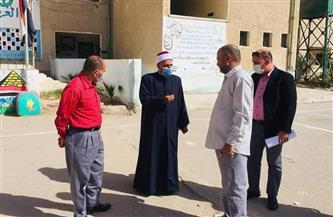 رئيس منطقة البحر الأحمر الأزهرية يتفقد معهد الغردقة النموذجي | صور