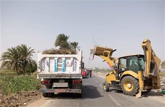 رفع 162 طن قمامة من مركز أبو حمص