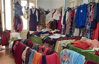 «وفد الدقهلية» يفتتح معرض الملابس الخيري لدعم المواطنين   صور