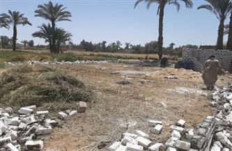 محافظ أسيوط: استمرار حملات إزالة التعديات على الأراضي الزراعية ومخالفات البناء | صور