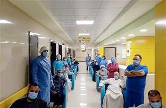 خروج 168 متعافيا من فيروس كورونا بمستشفيات العزل بدمياط