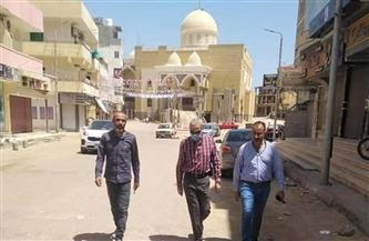 رئيس مدينة الغردقة: بدء أعمال ترميم الأسفلت أمام مسجد الدهار الكبير ومنطقة 144 وحدة  صور