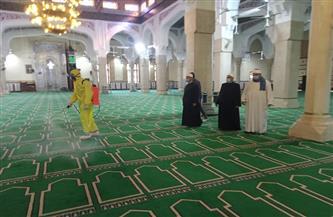 محافظ كفر الشيخ يتابع أعمال التطهير بالمساجد الكبرى |صور