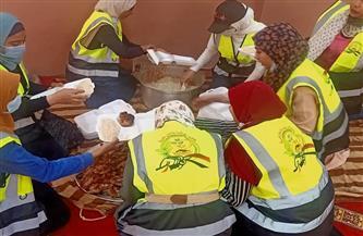 توزيع 4 آلاف وجبة إفطار على الأسر الأكثر احتياجًا خلال رمضان بالغربية   صور