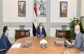 الرئيس السيسي يوجه بتطوير منطقة حديقة الفسطاط في مصر القديمة