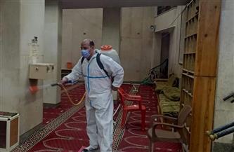 محافظة الجيزة تنفذ حملة تطهير وتعقيم للمساجد والكنائس| صور