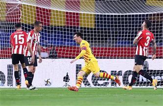 برشلونة يكتسح بيلباو برباعية ويتوج بكأس ملك إسبانيا للمرة 31