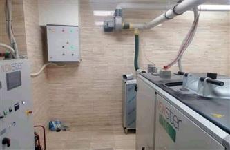 صحة الأقصر تعلن الانتهاء من تركيب وتشغيل جهاز تعقيم خاص للبيئة بمستشفى إيزيس التخصصي الجديد |صور