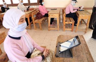غرفة عمليات تعليم القاهرة تتابع الامتحان التجريبي للصف الثالث الثانوي