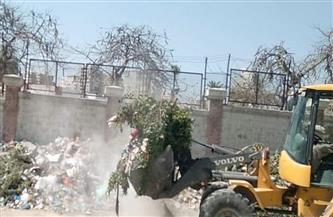 رفع 104 أطنان مخلفات وأتربة من مناطق متفرقة بالإسكندرية