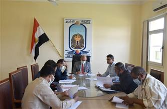 رئيس جامعة الأقصر يجتمع بلجنة الإسكان لبحث الإعلان عن وحدات سكنية | صور