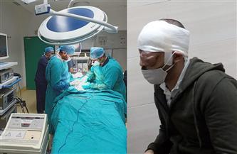بعد استئصال 80% من ورم نادر بالعين.. طالب الهندسة يخضع للجراحة الثانية استكمالًا لمراحل علاجه