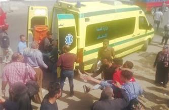 إسعاف القليوبية: 20 سيارة إسعاف لنقل مصابي حادث القطار للمستشفيات