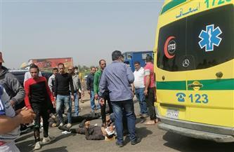 التحقيق مع المتسبب في مصرع شابين بعد ما صدمهما بالسيارة وأسقطهما في النيل