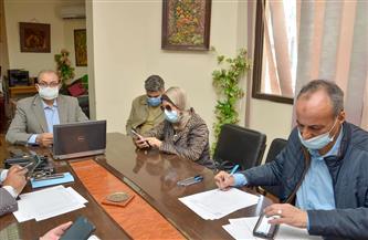 تعليم بورسعيد تتابع غرفة عمليات الاختبار التقني التجريبي لشهادة الثانوية العامة   صور