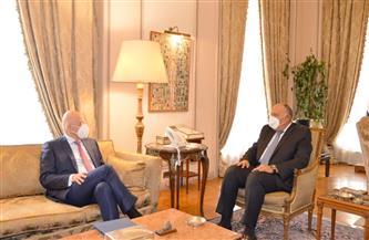 ليبيا وسد إثيوبيا والأوضاع بشرق المتوسط على طاولة مفاوضات وزيري خارجية مصر واليونان