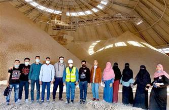 """""""علوم سوهاج"""" في زيارة إلى شركة مصر للأسمنت في قنا  صور"""