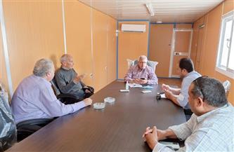 """اجتماع تنسيقي بـ""""مياه المنوفية"""" لمناقشة آليات تنفيذ مشروعات """"حياة كريمة"""""""