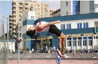 زياد عمرو لاعب الزمالك يستعد لبطولتي إفريقيا والعرب لألعاب القوى