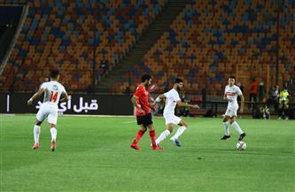 محمد شريف يحرز هدف التقدم للأهلي أمام الزمالك في لقاء القمة