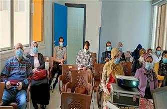 تدريب 25 طبيبا وصيدليا بمستشفيات العزل في الفيوم على تحديثات بروتوكول العلاج