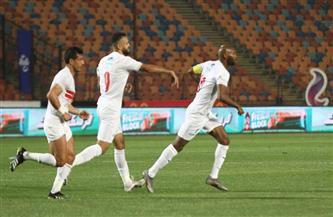 شيكابالا يسجل هدف التعادل للزمالك أمام الأهلي في لقاء القمة