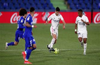 ريال مدريد «المنهك» يتراجع في سباق اللقب بعد التعادل مع خيتافي