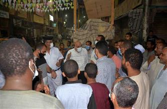 سكرتير محافظة الأقصر يقود حملة بمدينة إسنا ويحرر 20 محضر إشغال | صور