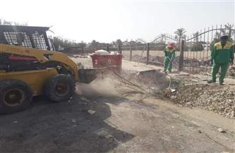 استمرار حملات النظافة بأحياء مدينة الغردقة | صور