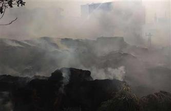 """السيطرة على حريق في """"حظيرة مواشي"""" بمركز بلقاس"""