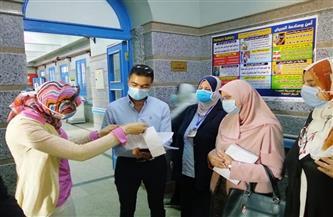 لجنة تفتيشية تشدد على الالتزام بتطبيق معايير الجودة ومكافحة العدوى فى مستشفيات المحلة | صور