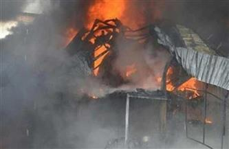 السيطرة على حريق في منزل وإصابة سيدة بحروق بالشرقية