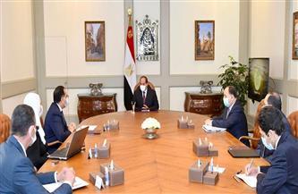 """الرئيس السيسي يطلع على نشاط حملة """"أبواب الخير"""" لدعم الفئات الأولى بالرعاية والعمالة غير المنتظمة"""