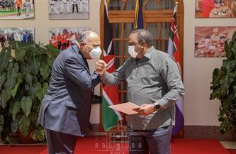 وزير الخارجية يستعرض مجريات اجتماعات كينشاسا خلال لقائه الرئيس الكيني