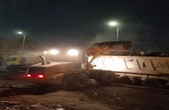 رفع 576 طن قمامة من بهتيم بحي شرق شبرا الخيمة   صور