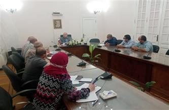 نائب محافظ الجيزة يعقد اجتماعًا لمتابعة الموقف التنفيذي لمشروع الصرف الصحي بقرية بشتيل