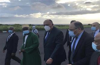  وزير الخارجية يصل جزر القمر فى ثانى محطات جولته الإفريقية  صور