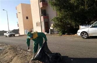 رئيس مدينة مرسى علم: استمرار حملات النظافة اليومية ورفع المخلفات بجميع مناطق المدينة |صور